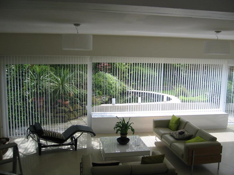 Images of Bi Folding Door Vertical Blinds - Losro.com