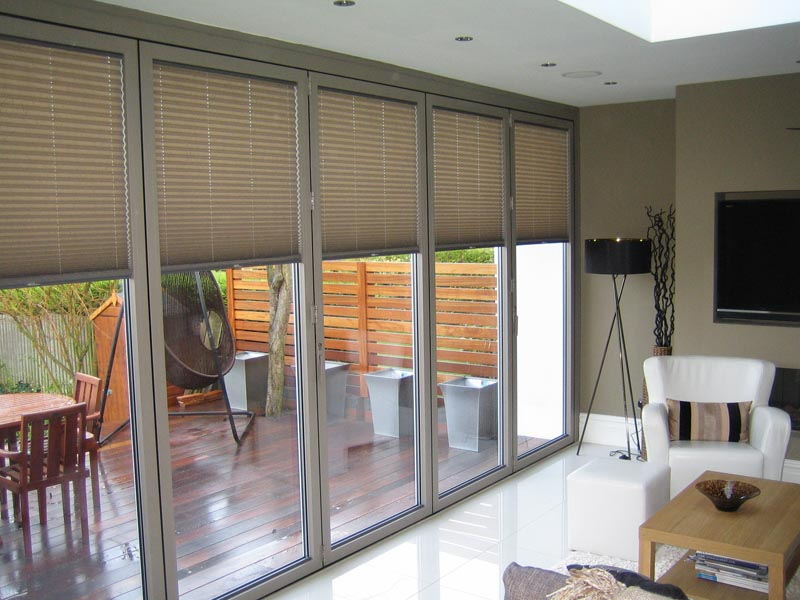 Pleated blinds & Aquarius Blinds Pleated blinds