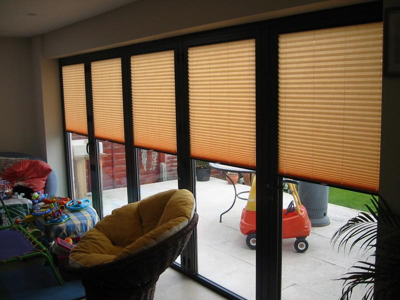Aquarius Blinds Pleated Blinds