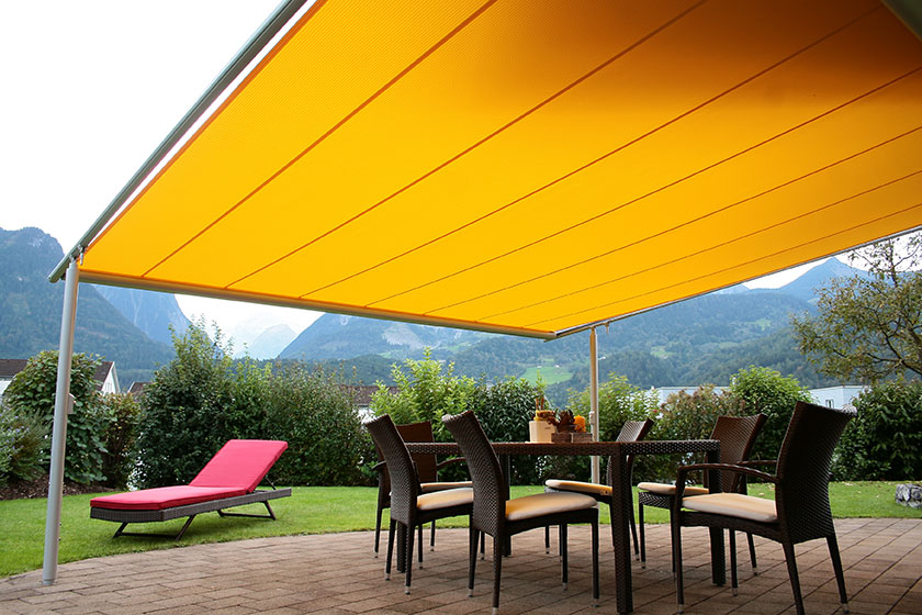Patio roof systems for Terrace shade