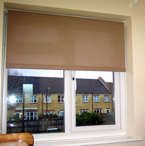 Aquarius blinds roller blinds for your living room make for Living room blinds
